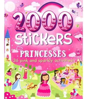 Parragon 2000 Stickers Kit-Princesses