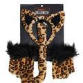 Maker\u0027s Halloween 3pc Adult Costume Set-Leopard
