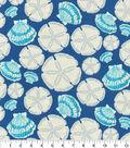 Waverly Sun N Shade Fabric-Sand Dollar Indigo