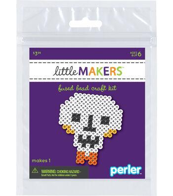 Little Maker's Fused Bead Craft Kit-Skull