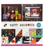 """Park Lane 12""""x12"""" Paper Stack-Happy Halloween, , hi-res"""