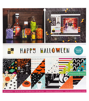 "Park Lane 12""x12"" Paper Stack-Happy Halloween"