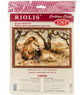 King Of Beasts Counted Cross Stitch Kit 10 Count