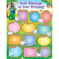 Carson-Dellosa God's Blessings on Your Birthday! Chart 6pk