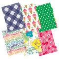 Color Crush Faux Leather Personal Planner Kit 5.25\u0022X8\u0022-Rainbow