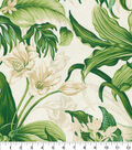 Waverly Upholstery Décor Fabric 9\u0022x9\u0022 Swatch-Wailea Coast Verte
