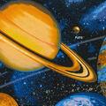 1 Yard Fabric Panel-Solar System