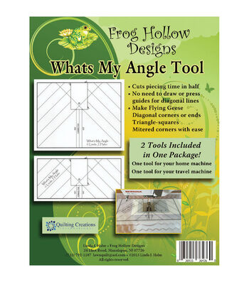 Sten Source Frog Hollow 2 pk What's My Angle Tool Templates