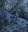 Denim Fabric -  Floral Printed Denim
