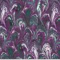 Premium Wide Cotton Fabric-Purple Oil Slick
