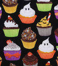 Halloween Cotton Fabric -Halloween Cupcakes
