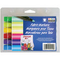 Fabric Marker Broad Tip 6/Pkg-Brilliant