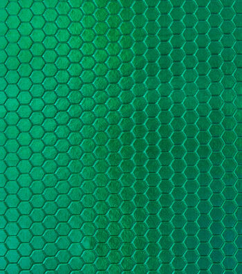 "Cosplay By Yaya Han Metallic Scuba Fabric 57""-Green Hex"