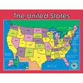 Carson-Dellosa U S Map Chart 6pk