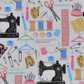 Novelty Cotton Fabric-Sewing Tools