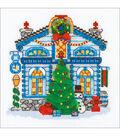 RIOLIS Create it Yourself 6\u0027\u0027x6\u0027\u0027 Counted Cross Stitch Kit-Ice Cabin