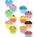 Cupcakes Designer Cut Outs 36/pk, Set of 4 Packs