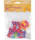 Feltie Stickers 10/Pkg-Funky Owl