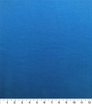 Americana Summer Stretch Twill Fabric-Brilliant Blue Sandwashed