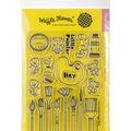 Waffle Flower Crafts Clear Stamp 5\u0022X7\u0022-Little Painters
