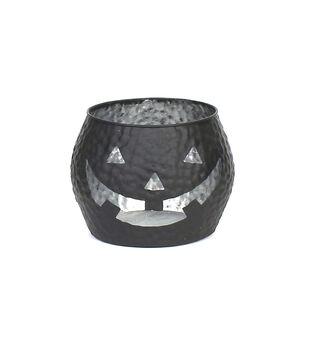 Maker's Halloween Black Jack O Lantern Small