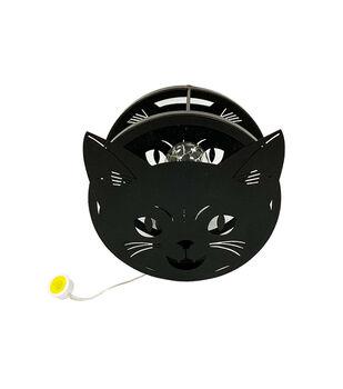 Maker's Halloween LED Cat Decor-Black