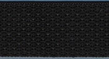 "Simplicity 1"" x 15 yards Polypropylene Webbing-Black"