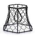 Darice Cleveland Vintage Lighting Metal Chicken Wire Hexagon Lampshade