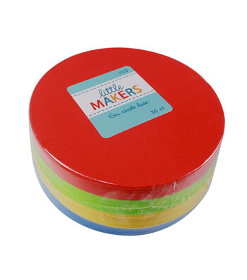 Little Makers 36Pc 6'' Circle Base 2Mm