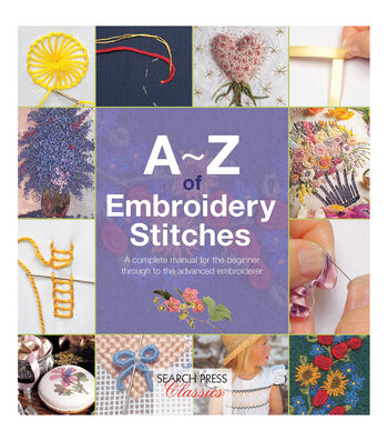 A-Z Of Embroidery Stitches Softcover Book