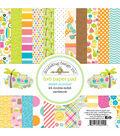 Doodlebug Design Sweet Summer 24-sheets 6\u0027\u0027x6\u0027\u0027 Double-sided Paper Pad