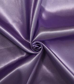 Let's Pretend Satin Fabric -Lavender