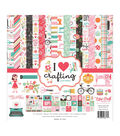 Echo Park Paper Co. I Heart Crafting 12\u0027\u0027x12\u0027\u0027 Collection Kit