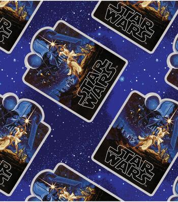Star Wars Fleece Fabric -Vintage Posters