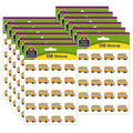 Teacher Created Resources School Bus Stickers 12 Packs