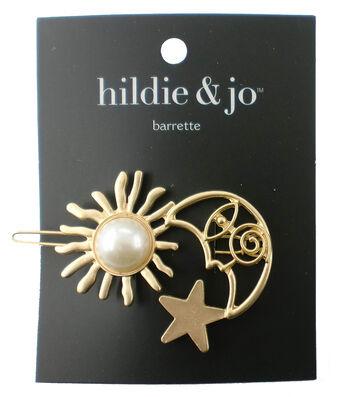 hildie & jo Moon & Sun Gold Barrette