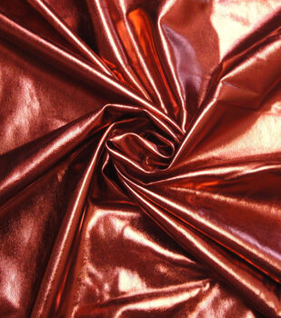Cosplay by Yaya Han 4-Way Stretch Fabric -Metallic Red