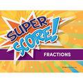 Edupress Super Score Game Fractions, Grades 3+, Pack of 2