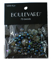 hildie & jo Boulevard 75 pk Mixed Glass Beads, , hi-res