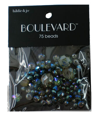 hildie & jo Boulevard 75 pk Mixed Glass Beads