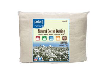 """Pellon Nature's Touch Cotton Batting 120""""x120"""""""