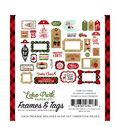 Celebrate Christmas Cardstock Die-Cuts 33/Pkg-Frames & Tags