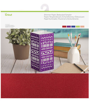 Cricut 10 Pack 12''x12'' Shimmer Paper Samplers-Bedazzled