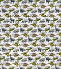 Snuggle Flannel Fabric-Dino Friends
