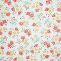Premium Cotton Fabric-Lucy Stripes & Flowers