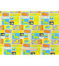 Nursery Cotton Fabric 43\u0022-Zoo Animals