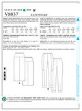 Mccall Pattern V8837 Xsm (4-6) -Vogue Pattern
