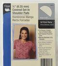 Dritz 1/2\u0022 Covered Set-In Shoulder Pads