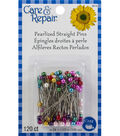 Dritz Care Repair Pearlized Straight Pins Size 25 120ct Multipack of 24