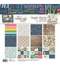 Simple Stories Crafty Girl 12\u0027\u0027x12\u0027\u0027 Collection Kit